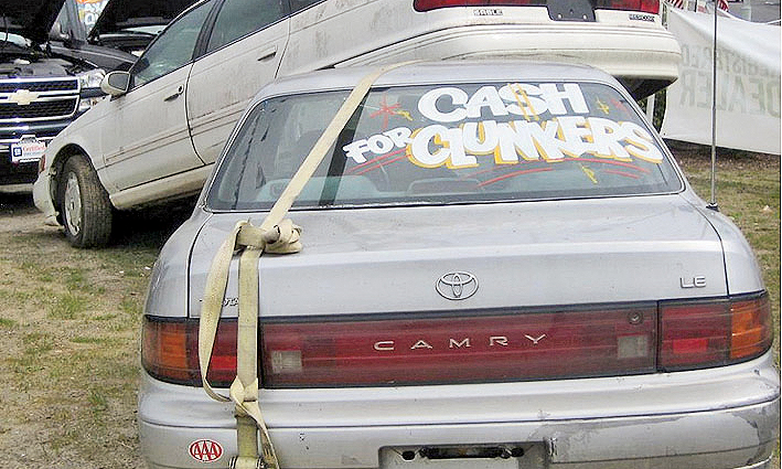 Cash For Clunkers >> Cash For Clunkers Opened Up The Floodgates