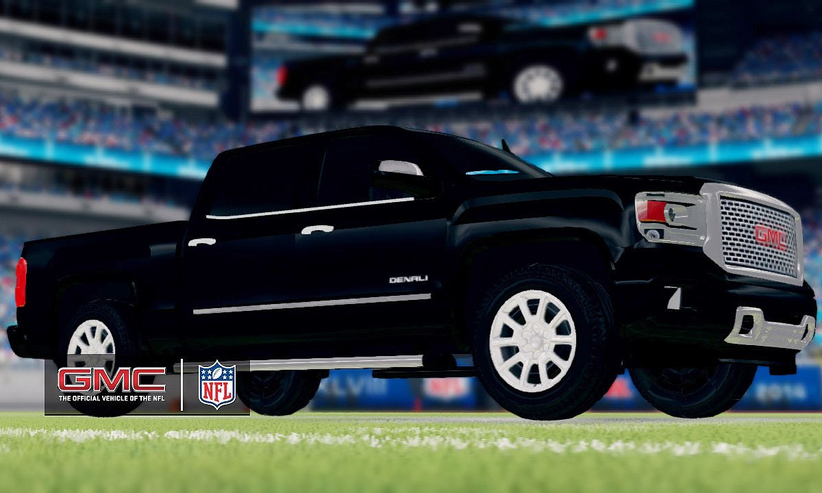 GMC vehicles to be featured in 'Madden NFL 25' video game