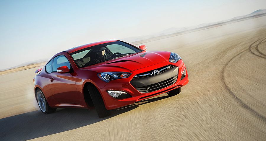 Hyundai Drops Turbo Moving Genesis Coupe Upscale For 2015