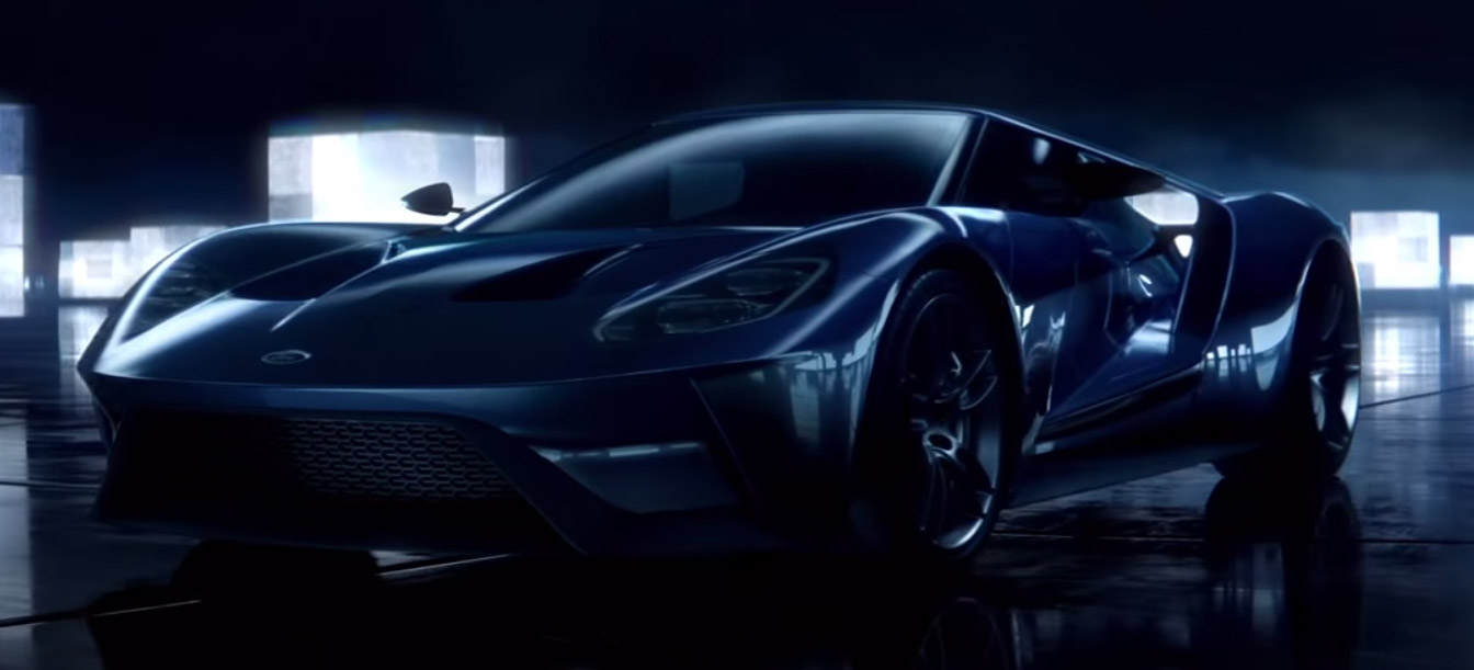 The Ford Gt Zooms Through The Pixelated History Of Racing Video Games In A New Commercial For The Upcoming Forza Motorsport  On The Xbox One