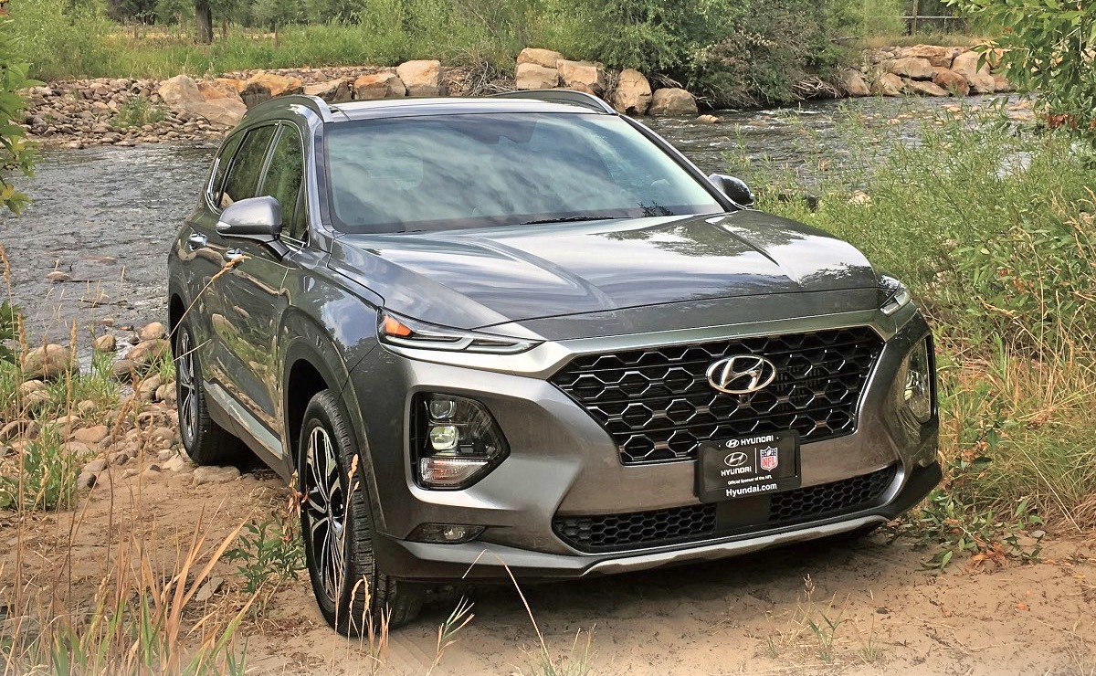 Redesigned 2019 Hyundai Santa Fe Gets Name Change