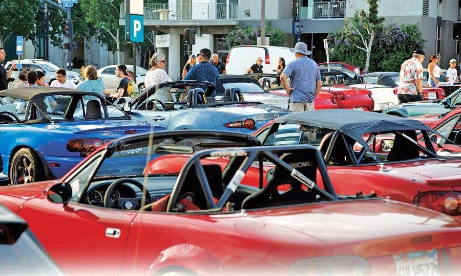 Mazda hits the club scene to tap into Miata love