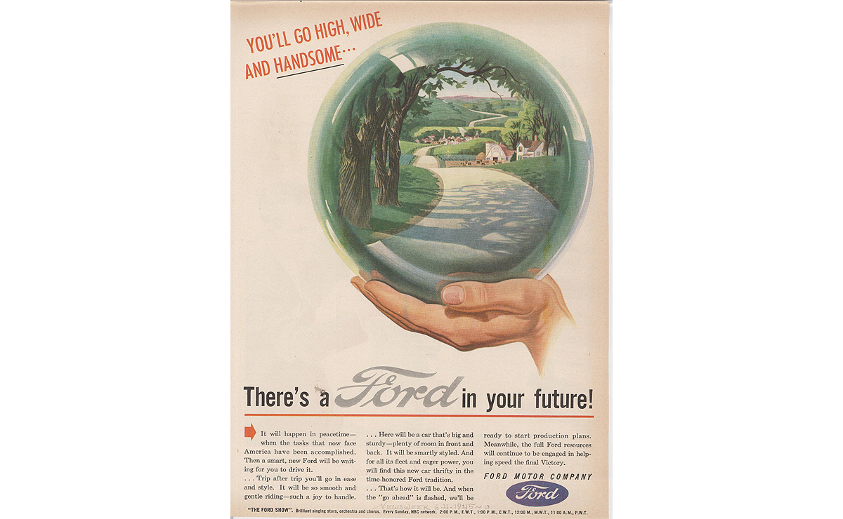 Ford And Wpp Inside A 75 Year Advertising Relationship