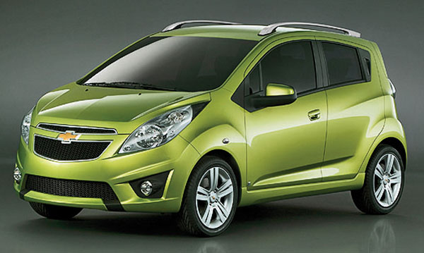 Of Chevrolet S Three New Small Cars The Spark Shown Will Be Budget Model In Lineup
