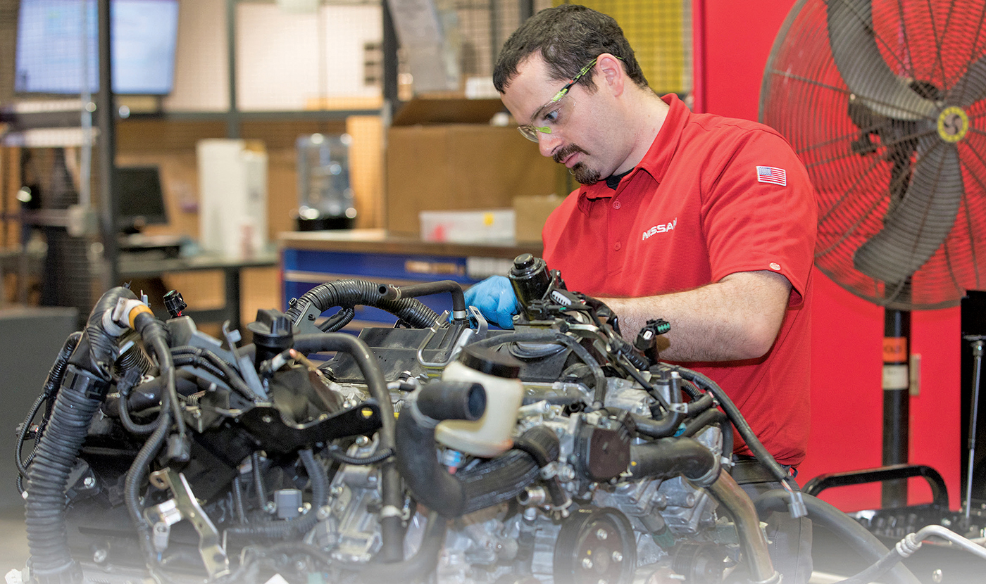 Nissan's repair ninjas help dealership techs solve tough problems