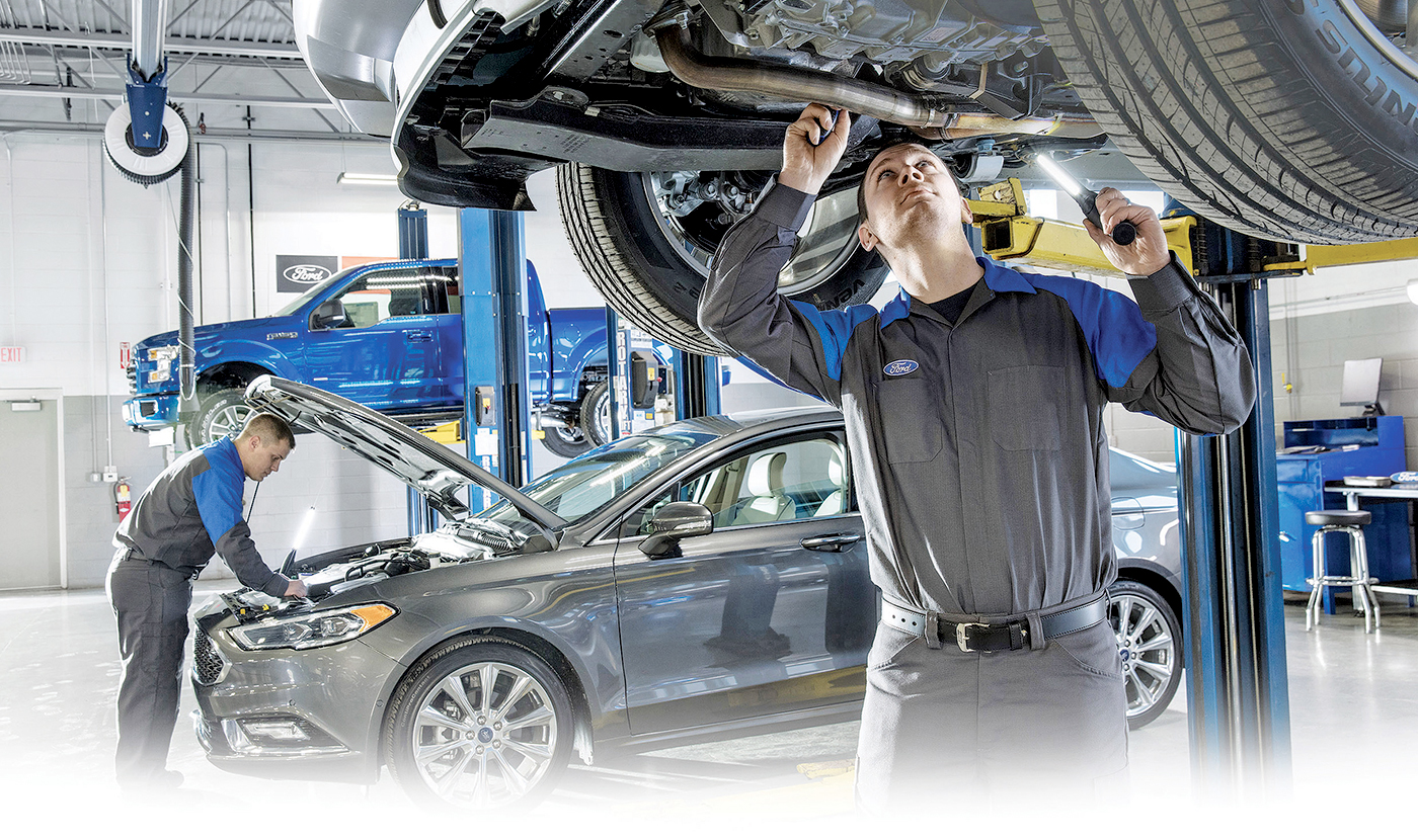 Ford Repair Shop >> Ford Works With Dealers To Recruit Students As Shop Techs
