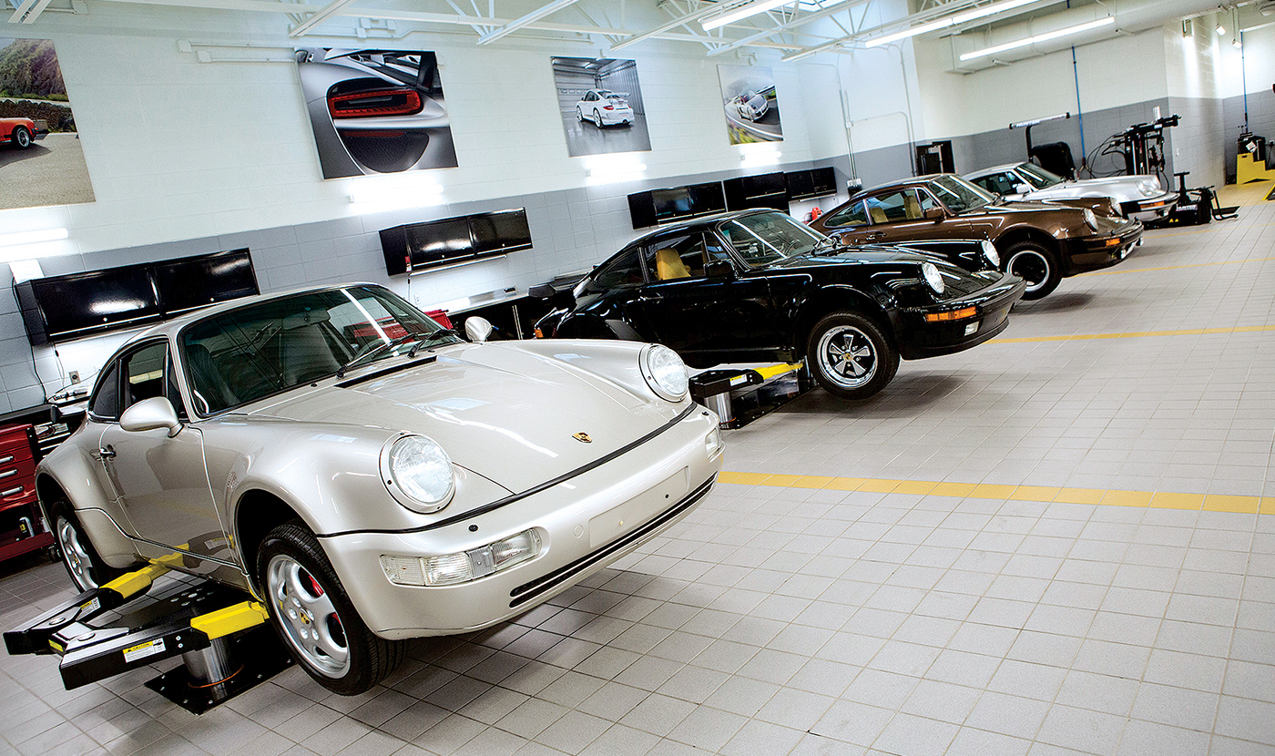 Porsche sees gold in classic cars