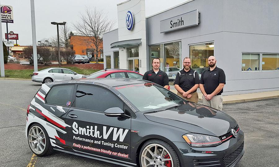 Dealership picks up on VW enthusiast vibe