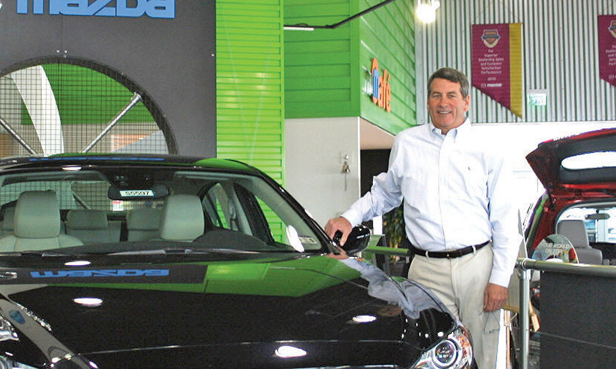 mazda dealer reaches out to military families