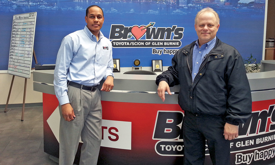 Brown Automotive Group >> Va Group Cultivates Home Grown Talent