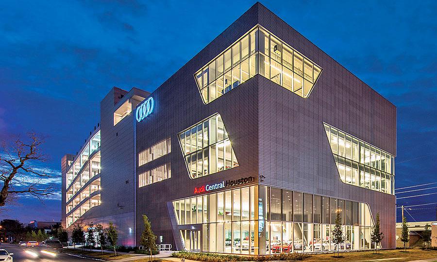 Audi Central Houston >> As Echopark Expands Format Becomes Flexible
