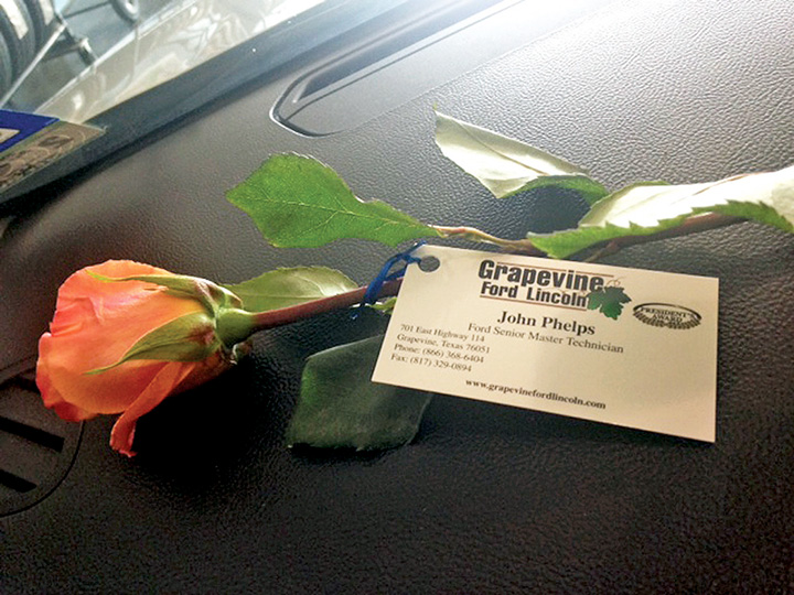 Grapevine Ford Exec Finds The Key Is Communication