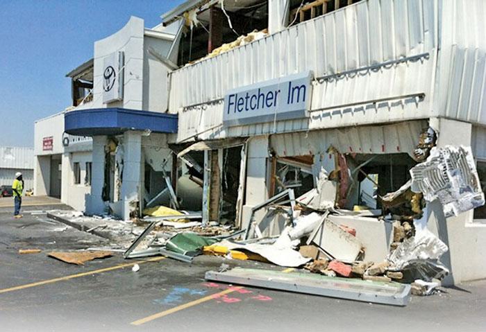 Fletcher Toyota Joplin Mo >> After A Tornado Destroyed 2 Of Fletcher Auto Group S Stores