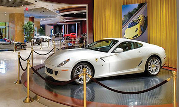 Las Vegas Used Cars >> Ferrari Maserati Casino Dealership Reopens In Downtown Las Vegas