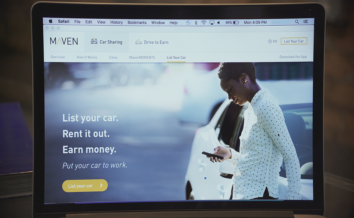 General Motors launches Maven peer-to-peer car sharing program