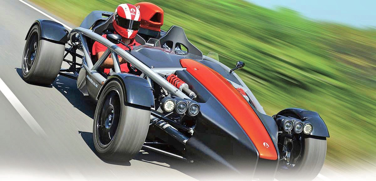 U S -built Ariel Atom will shine at Britain's Goodwood