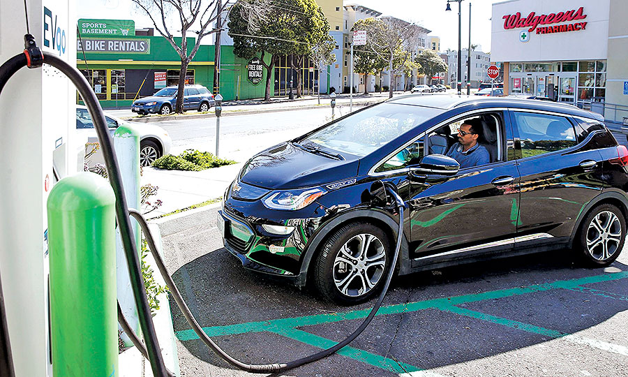 EV ride-hailing cuts emissions by 70 percent in pooled-ride situations.