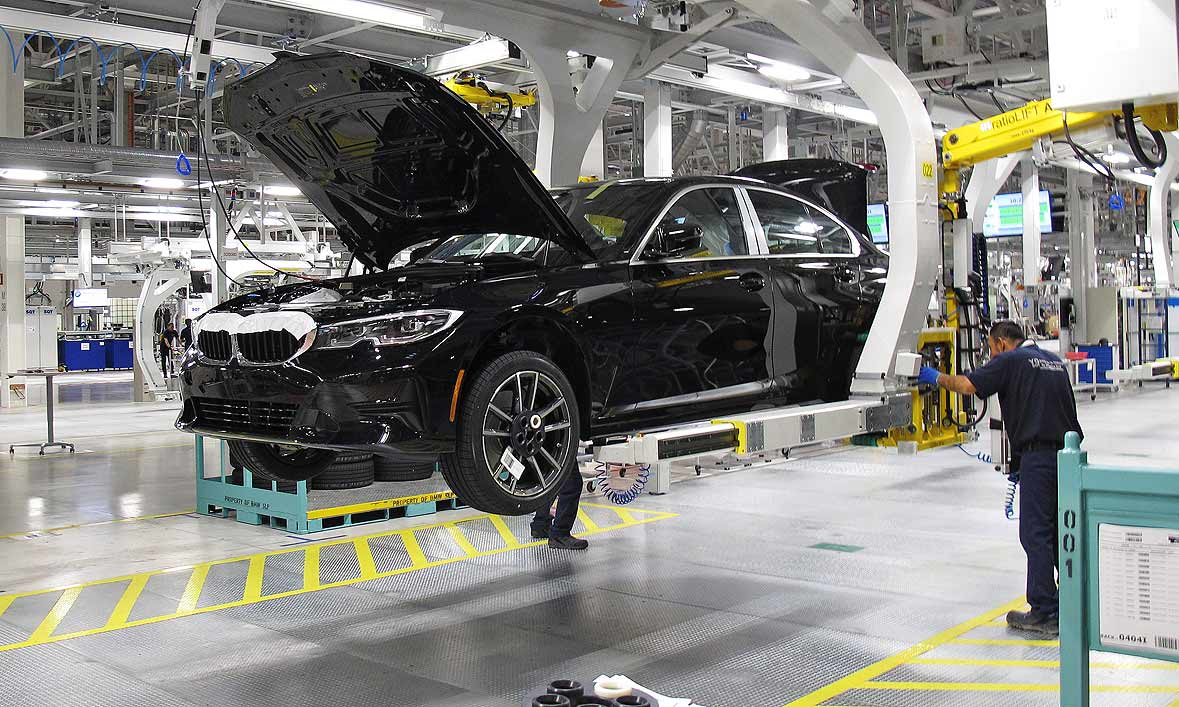 BMW opens first Mexico plant as Trump tariff standoff builds