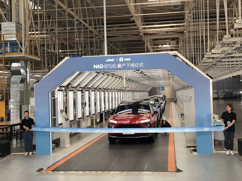 Nio plans Beijing plant, will likely seek a partner, CEO says