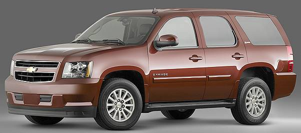 Gm Says The Chevy Tahoe Hybrid Offers 25 Percent Greater Fuel Economy Epa Rating For Standard 14 Mpg City 19 Highway