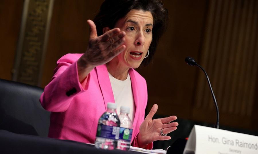 "U.S. Commerce Secretary Gina Raimondo: ""We just need the federal money ... to unlock private capital."""