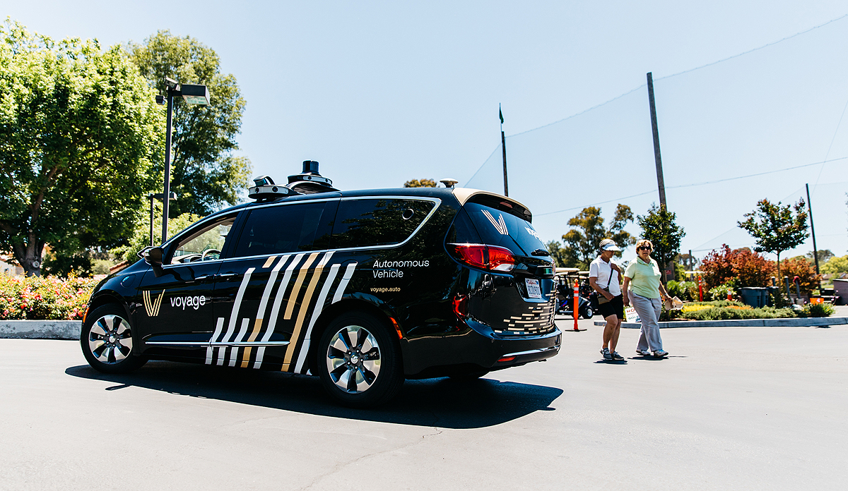 Self-driving startup Voyage faces IP-related suit