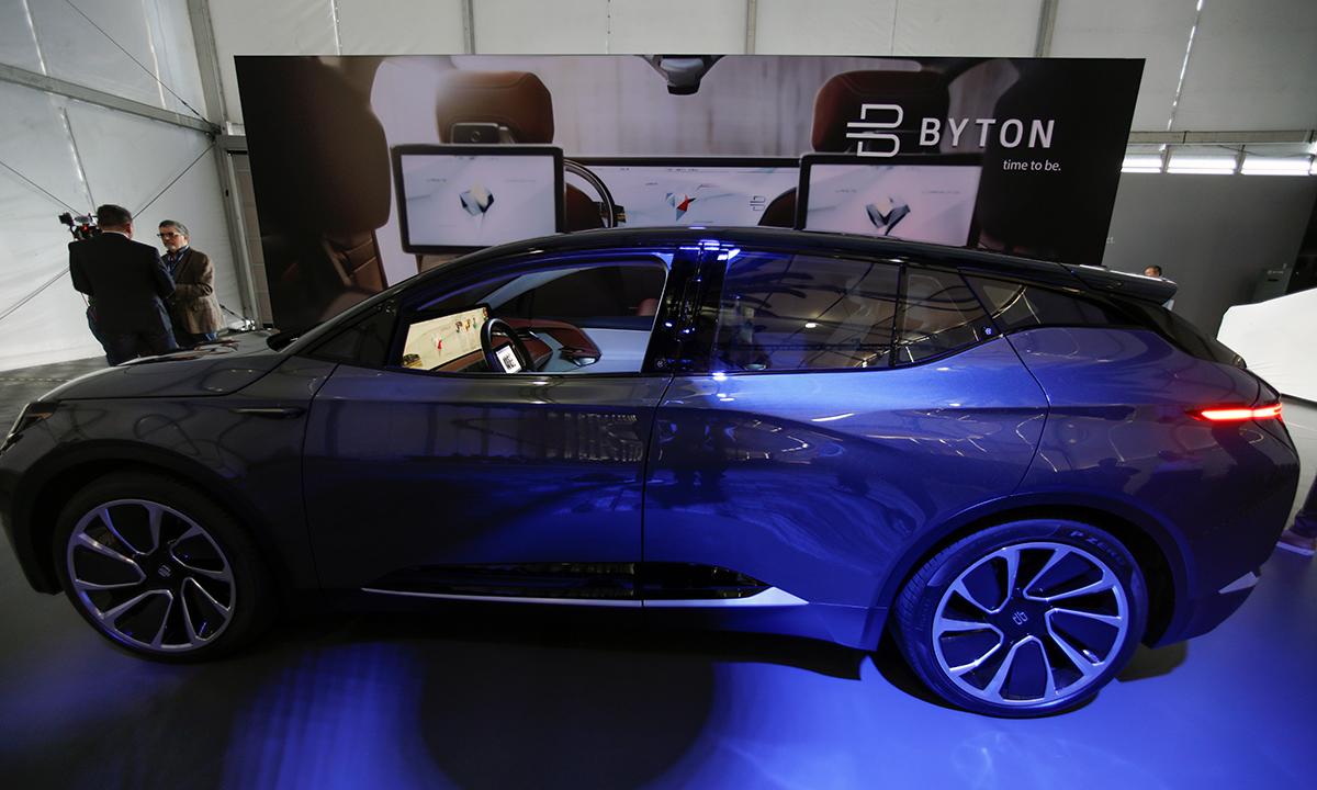 EV startup Byton reportedly aims to raise $500 million