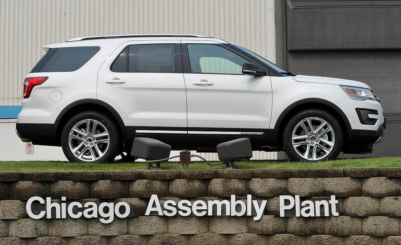 Ford recalls 1 2M Explorers for suspension issue