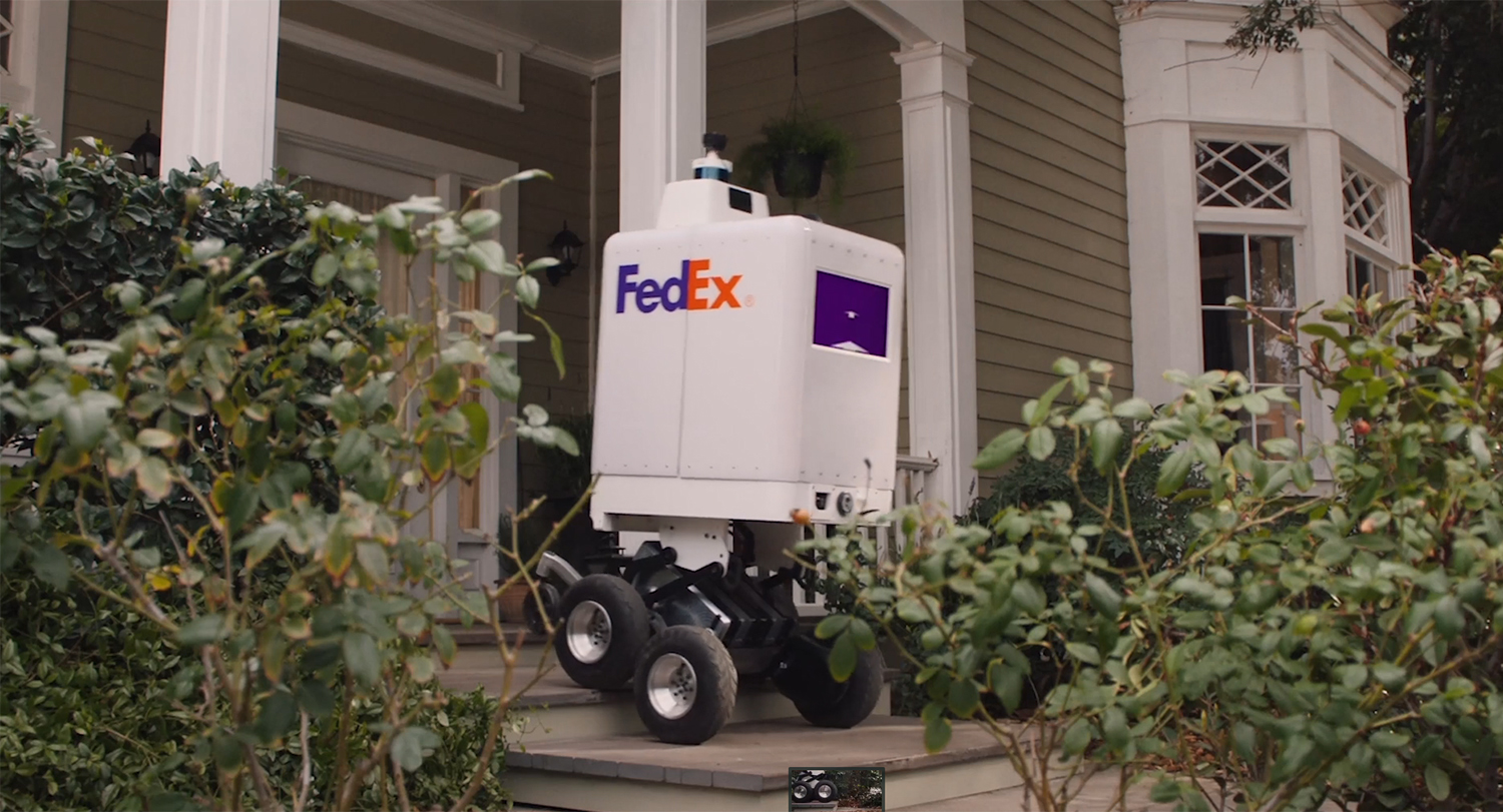 Get ready for autonomous delivery bots