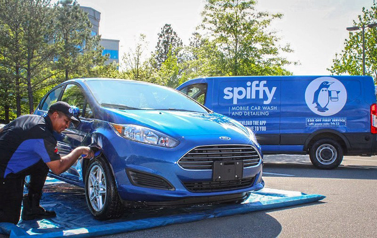 Ford Motor Adding On Demand Car Washes In Vehicle Amazon Deliveries