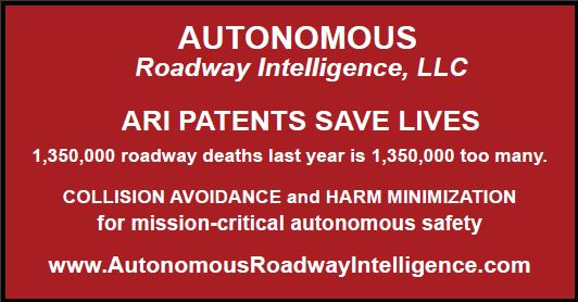 Autonomous Roadway Intelligence, LLC