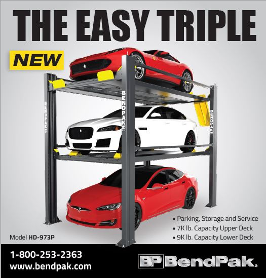 Bendpak - The Easy Triple