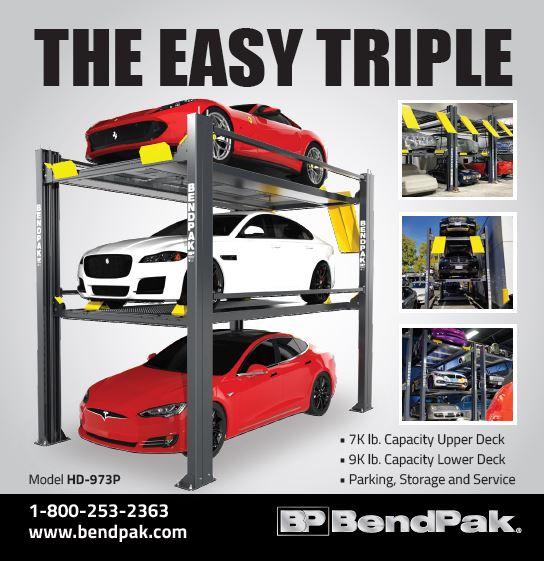 Bendpak - The Easy Triple