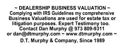 DT Murphy Dealership Business Valuation