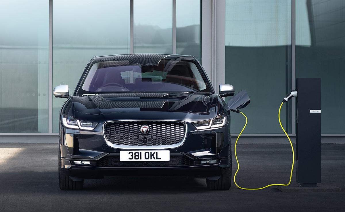 Jaguar I Pace charging