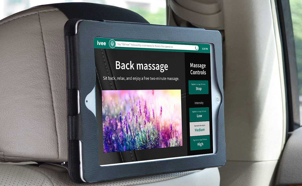 Massage screen