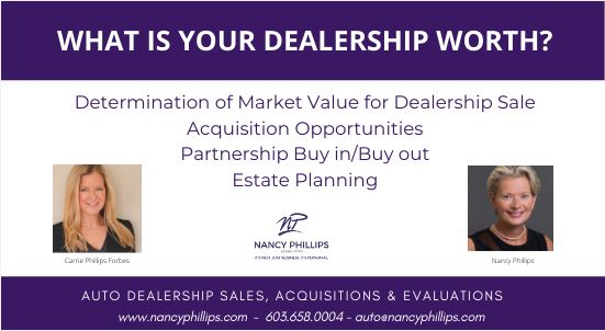 NANCY PHILLIPS - WHAT IS YOUR DEALERSHIP WORTH?