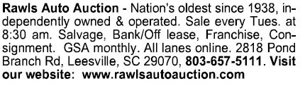Rawls Auto Auction