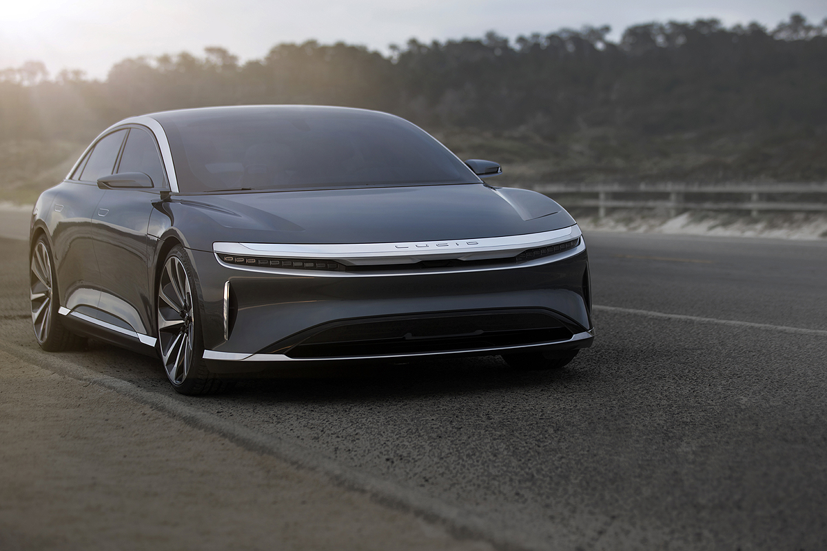 Lucid Motors Breaks Ground On Ariz  Plant  Signals Production In Late 2020