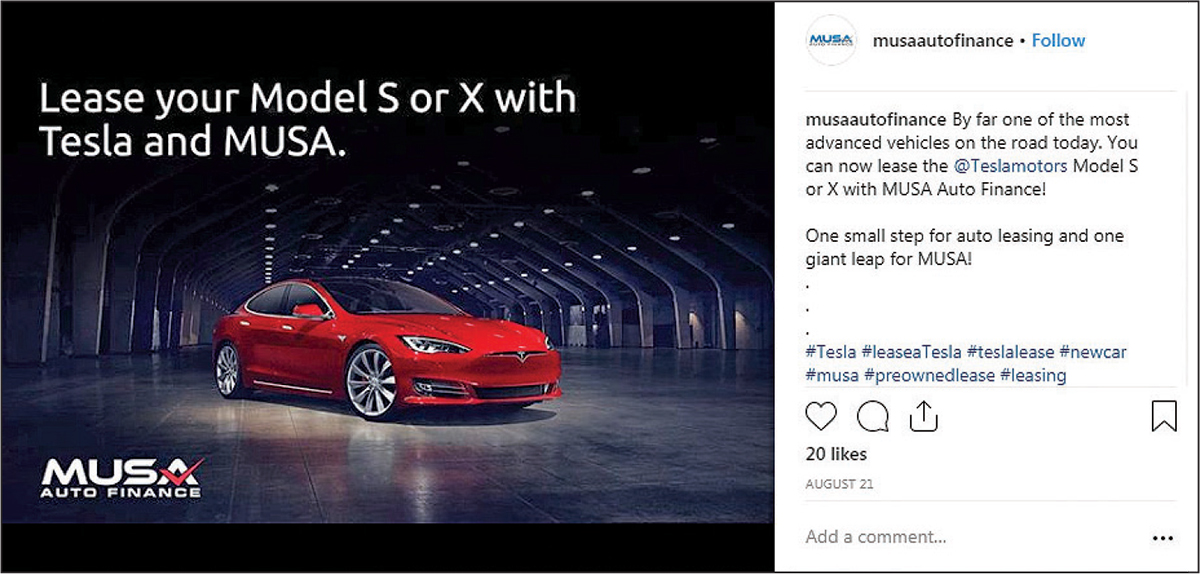 Dream Deal With Tesla Puts Leasing Startup S Future In Doubt