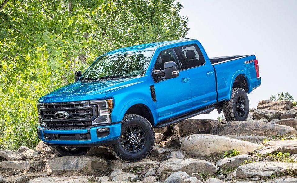 Big Ford Trucks >> Ford S Tremor Takes On Ram Power Wagon