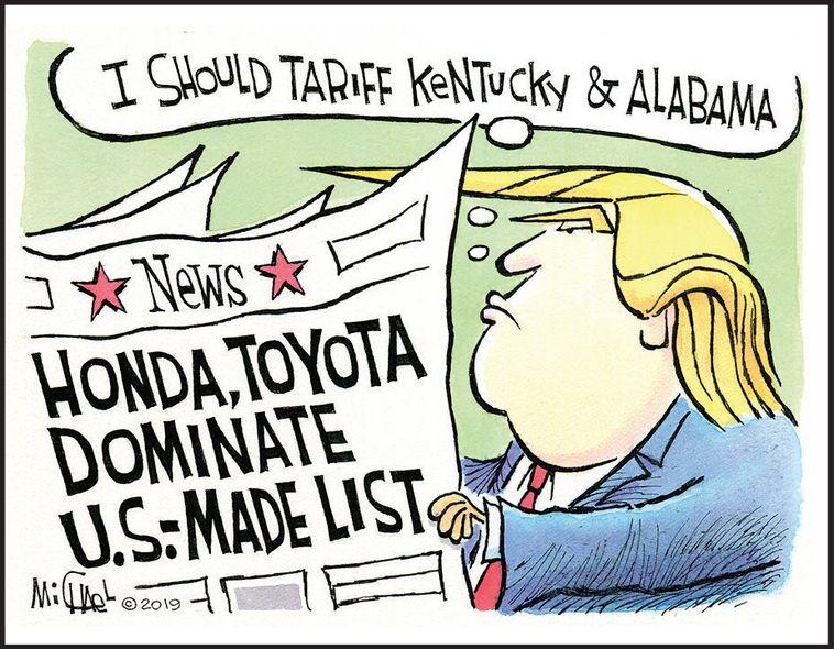 Honda, Toyota dominate U.S.-made list