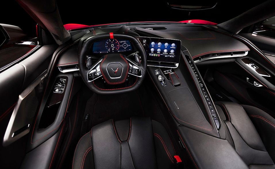 2020 Chevrolet Corvette interior