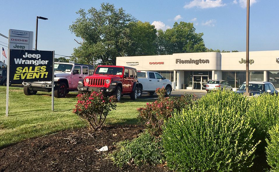 Flemington Chrysler-Jeep-Dodge-Ram in Flemington, N.J., faces monthly stair-step goals that the store's general manager says are challenging.