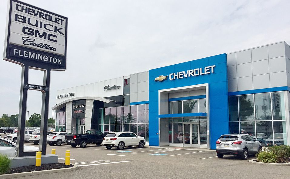 Flemington Chevrolet-Buick-GMC-Cadillac, across the street from dealer Steve Kalafer's Fiat Chrysler Automobiles' store, also faces monthly and quarterly stair-step sales targets. The store's general manager usually opts to chase the Buick, Chevrolet and Cadillac goals, which pay the most.