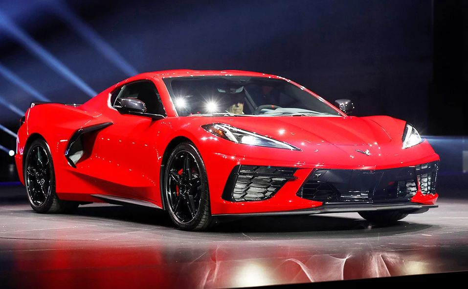 2020 North American Car of Year finalist: Chevrolet Corvette