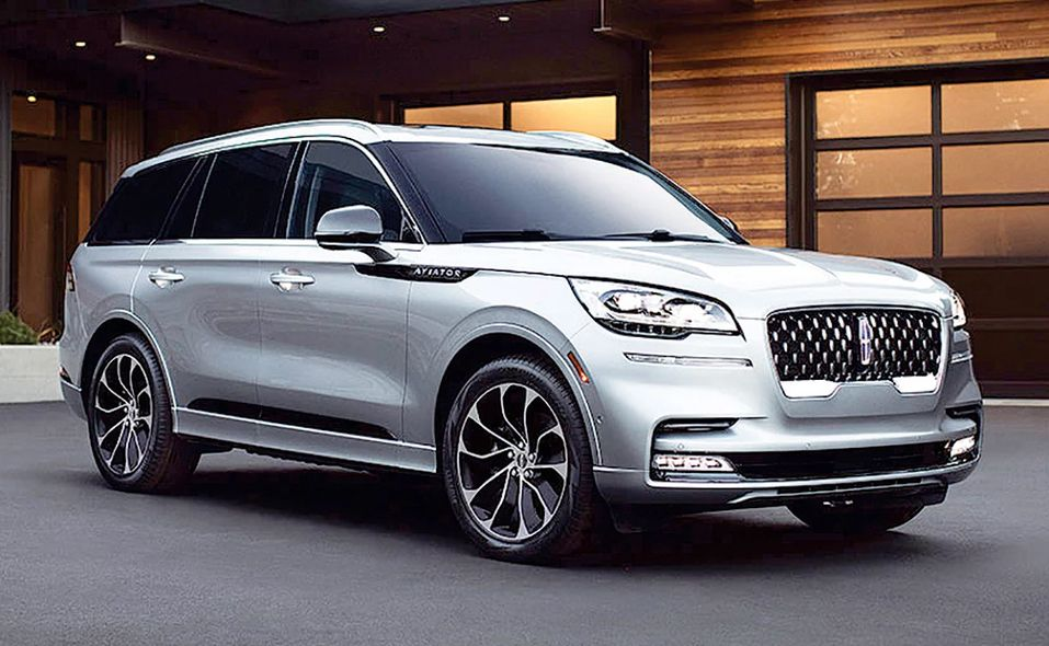 2020 North American Utility of Year finalist: Lincoln Aviator