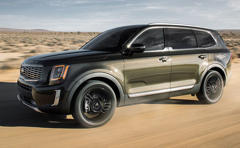 2020 North American Utility of Year finalist: Kia Telluride