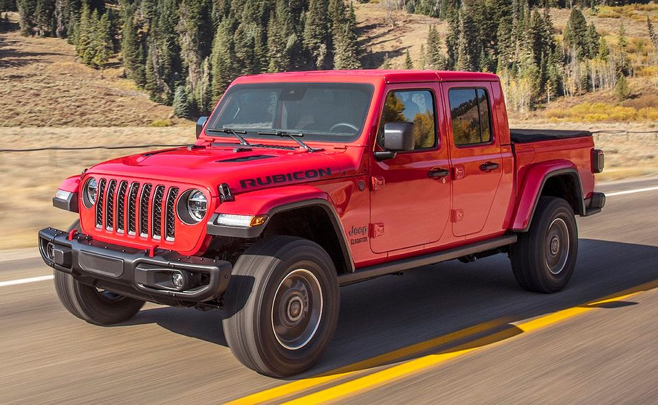 2020 North American of Truck Year finalist: Jeep Gladiator