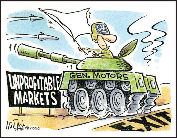 Strategic retreat